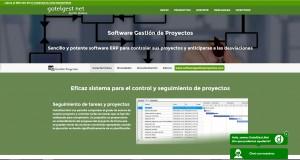 El módulo de gestión de proyectos de GotelGest.Net es completísimo y cuenta con un buen diseño