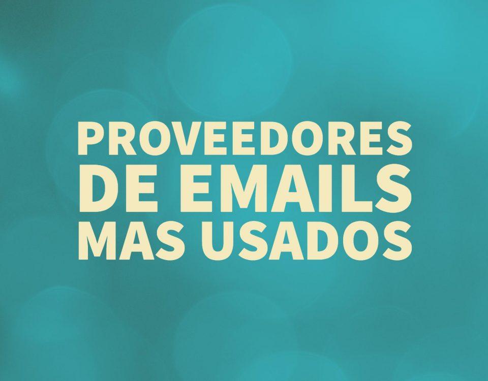 Proveedores-de-emails-mas-usados